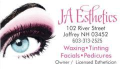 JA Esthetics ad