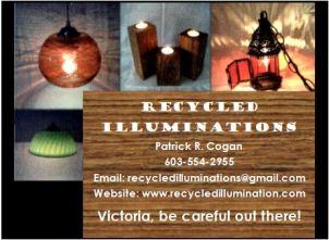 Recycled Illuminations ad
