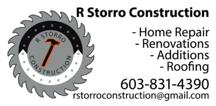 Storro Construction ad