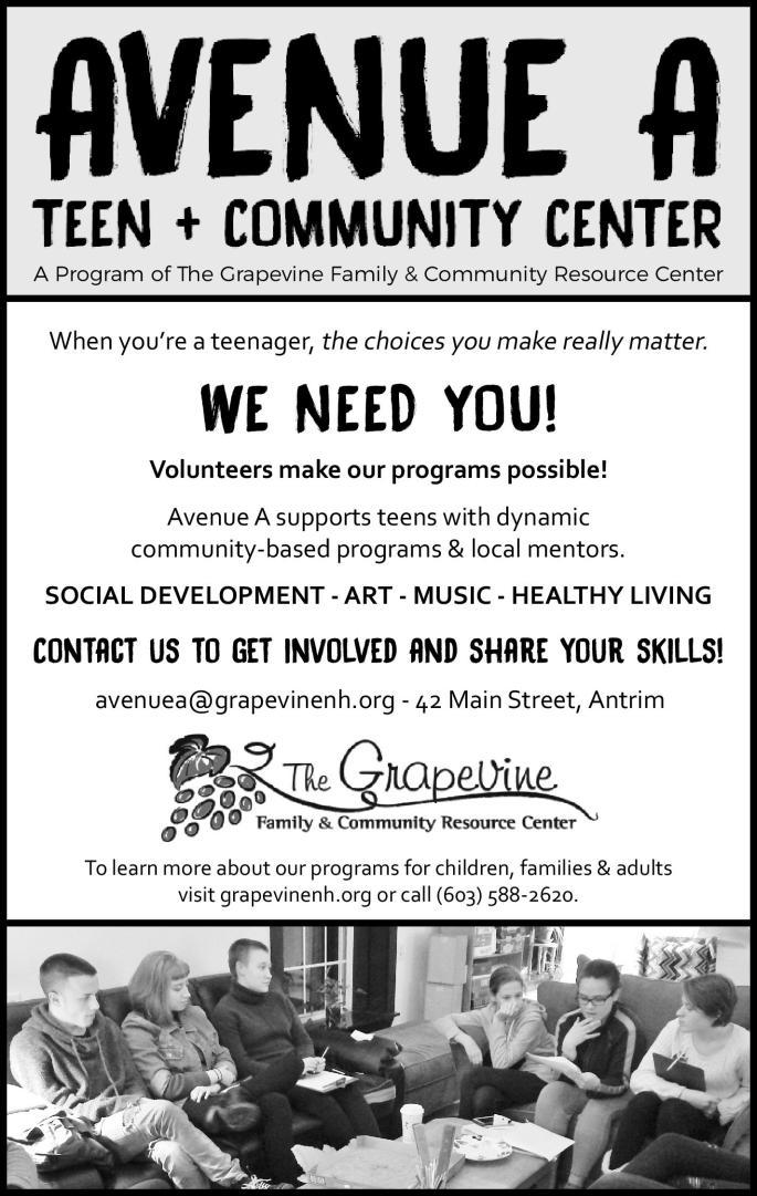 Avenue A Teen Center Ad for Players-page-001