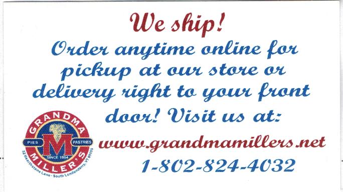 Grandma Millers ad