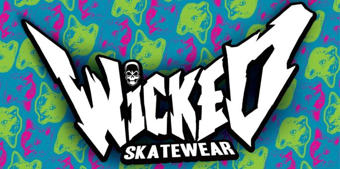 Wicked Skatewear Banner - Neon Cat Background-page-001